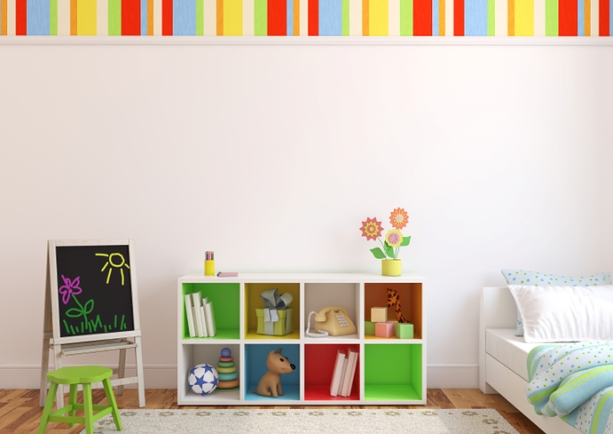 Cool Ideas for Organising Kids' Rooms