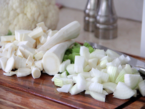 Cauliflower Soup Recipe - Ingredients