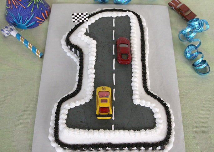 Swell Race Car First Birthday Cake Recipe Funny Birthday Cards Online Elaedamsfinfo