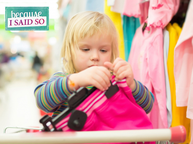 Parenting Blog - Shopping
