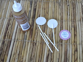Mother's Day Cupcake Toppers - Step 3