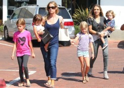 Brooke Mueller's Twins Removed From Her Home; Denise Richards Caring For Them Again