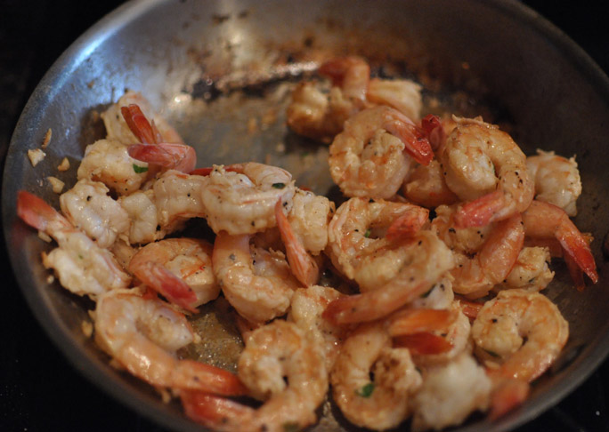 Shrimp Scampi - Step 3
