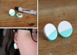 Colorblock Earrings Craft