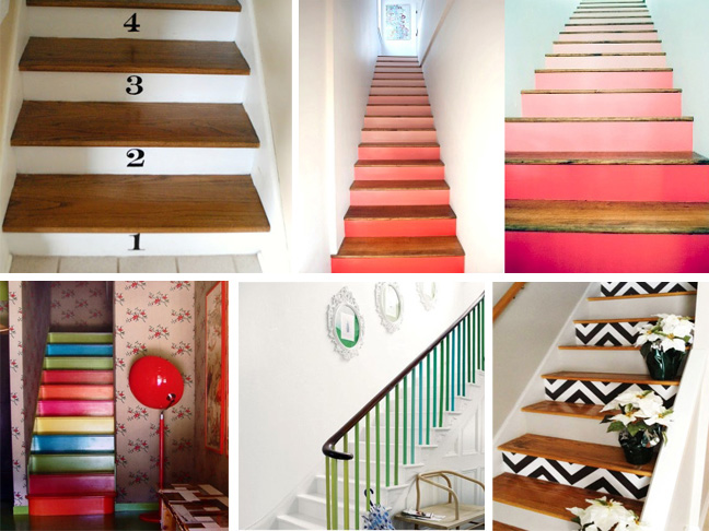 Creative Ways to Paint Stairs