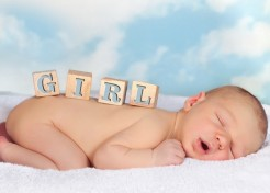 Most Popular Baby Names for Girls in 2012