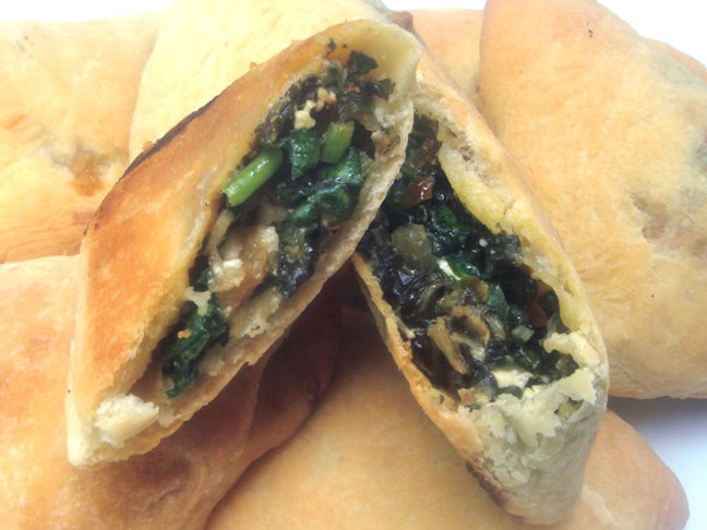 Hand Held Spinach Pie