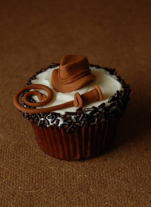 Indiana Jones Cupcake - Father's Day