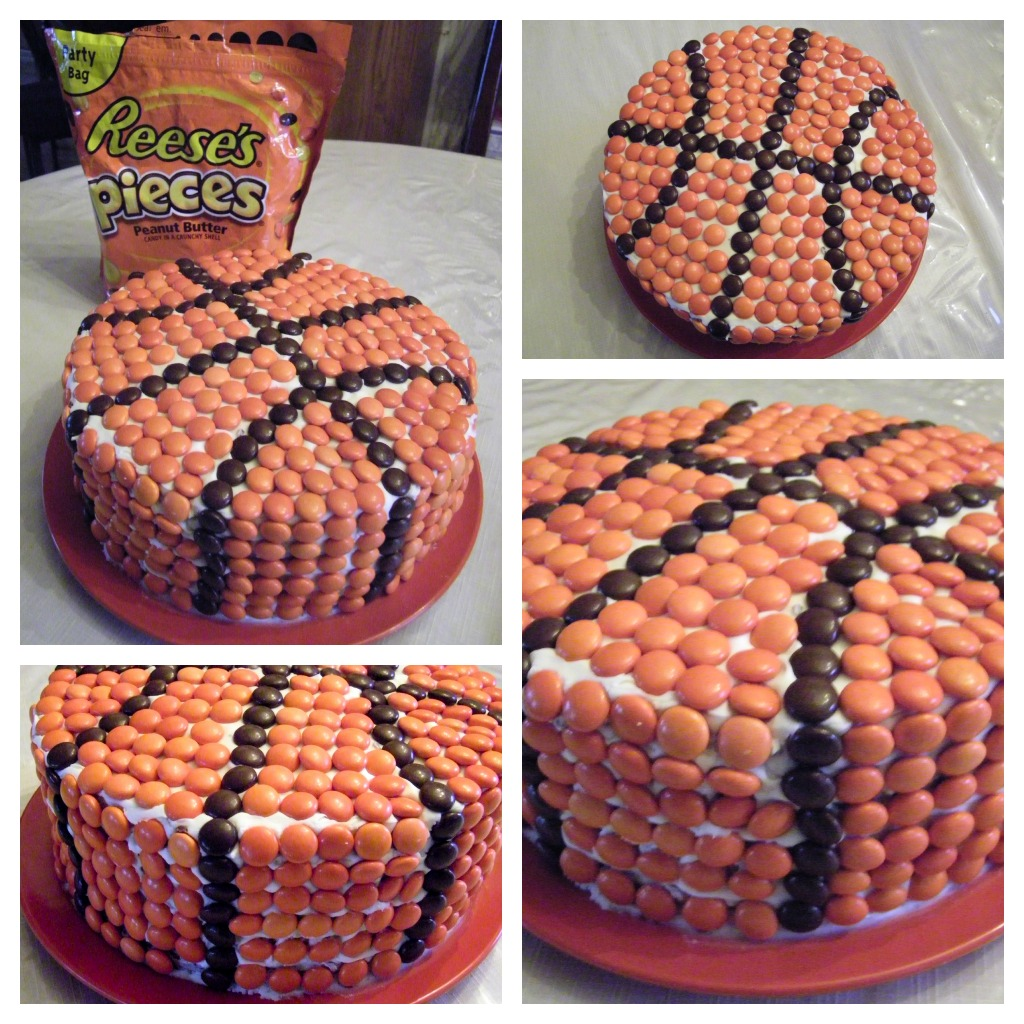 Basketball Cake - Father's Day