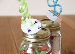 Kids Craft: Party Straws