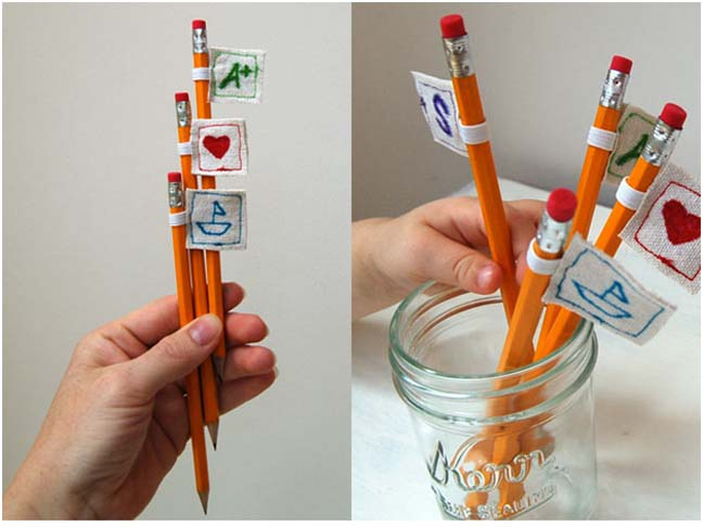 DIY: Pencil Toppers