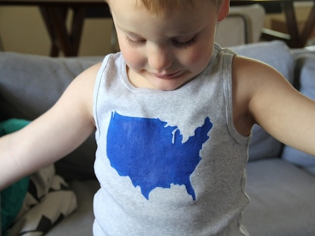 Patriotic T-Shirt DIY