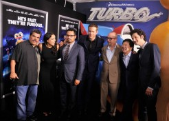 Photos: Melissa Gorga, Ryan Reynolds, And More Turn Out For Premieres of 'Grown Ups 2' and 'Turbo'