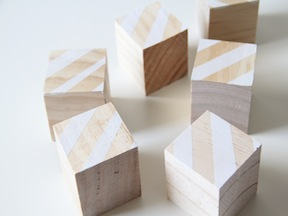 DIY Puzzle Blocks Craft - Step 3