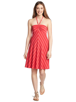 Bandeau Strip Halter Summer Dress