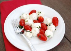 Peppery Caprese Salad