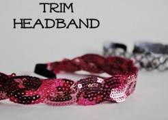 DIY: Trim Headband
