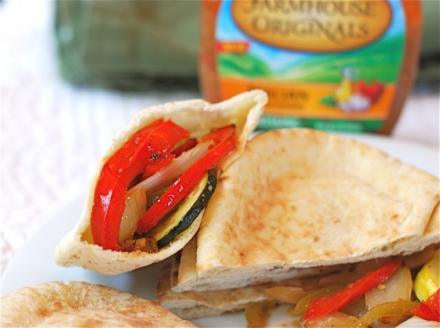 Italian Herbed Pita Pockets