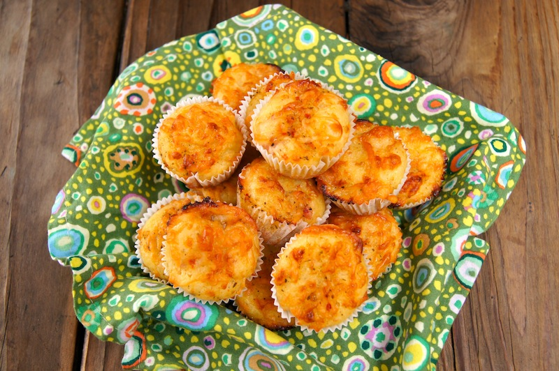 Ham and Cheese Mini Muffins - Final