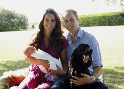 The Duke And Duchess Of Cambridge Share First Family Photos With Prince George