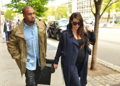 Kim Kardashian And Kanye West Share The First Photo Of North West