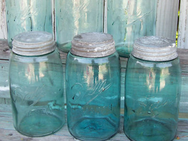 vintage-blue-ball-jars