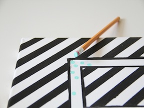 DIY Monogram Art - Step 6