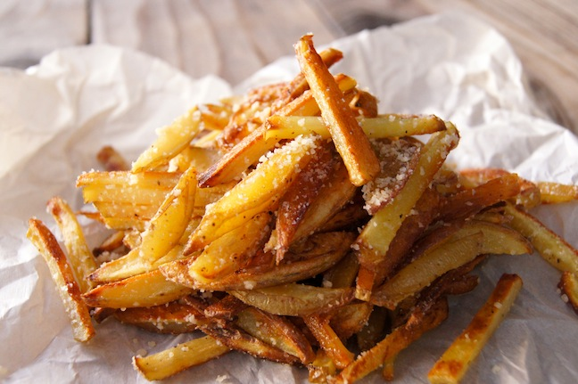 Matchstick Parmesan French Fries