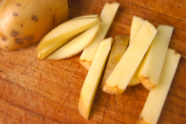 Matchstick Parmesan Fries Recipe - STEP 3