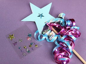 DIY Princess Wand Craft