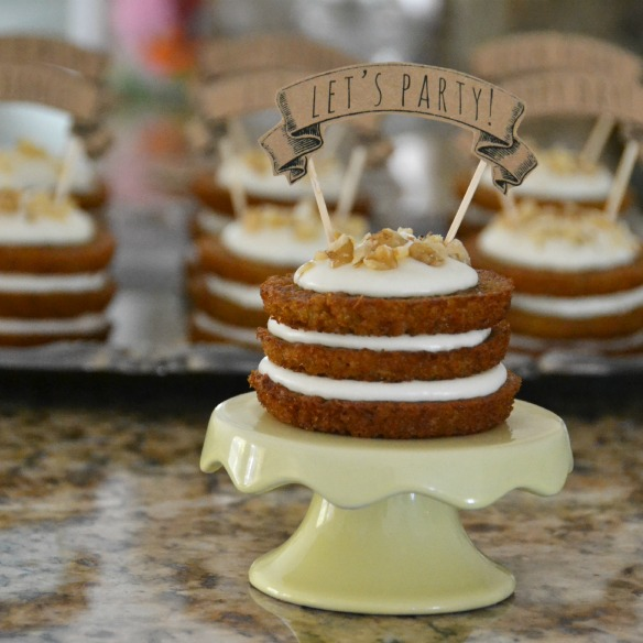 Mini Layer Cakes Recipe