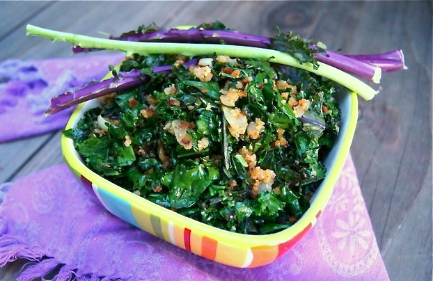 crispy sauteed kale recipe final