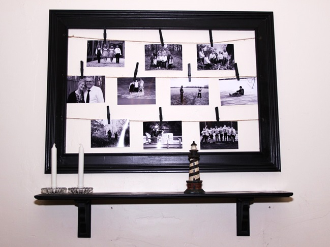 DIY photo frame 3