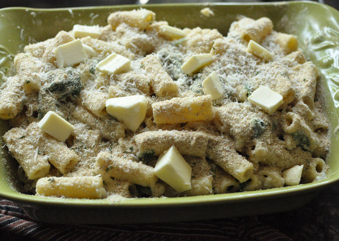 Cheesy Baked Pasta With Spinach and Lemon recipe step 4a