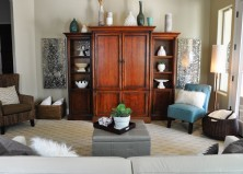 Susan's Living Room Revamp: Artistry is Underfoot with SoftSpring Carpet