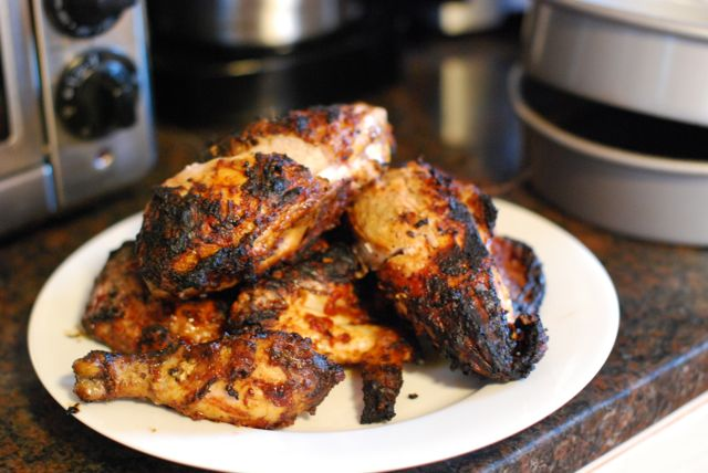 grilled ginger beer chicken recipe step 4