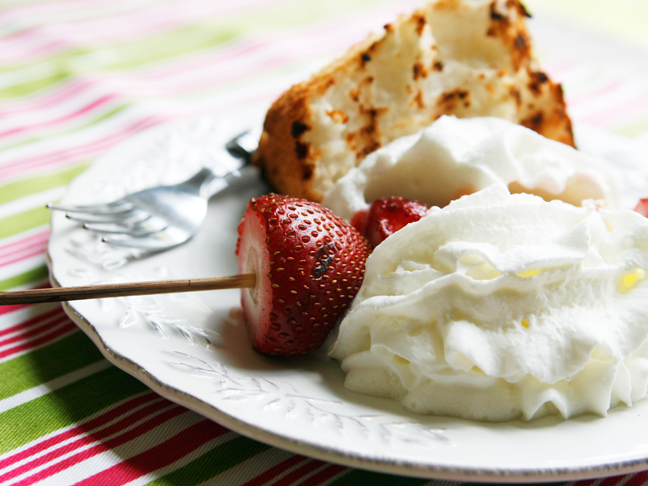 Grilled Strawberry Shortcake Main Image