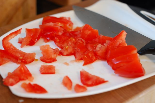 Simple Tomato Bruschetta recipe step 2