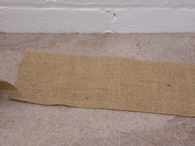Thanksgiving Burlap - Step 1