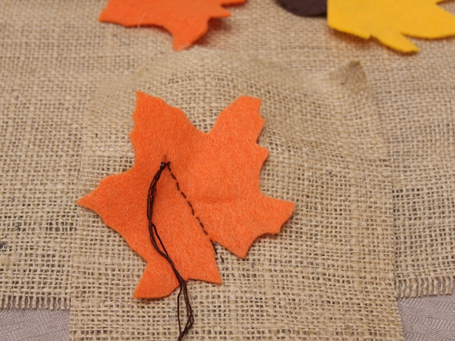 Thanksgiving Burlap - Step 3