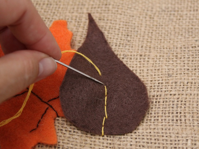Thanksgiving Burlap - Step 4