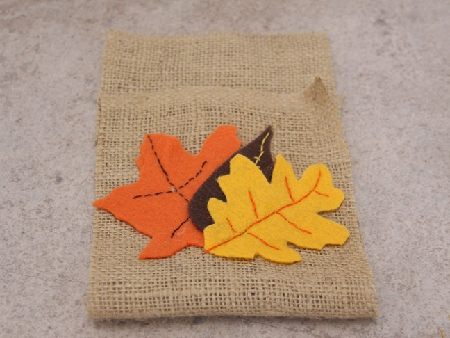 Thanksgiving Burlap - Step 6