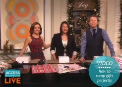How to Wrap a Present Perfectly: Our Easy Tutorial on Access Hollywood Live