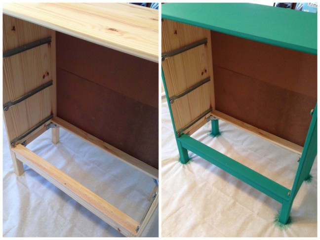 Colorful Ikea Dresser Hack