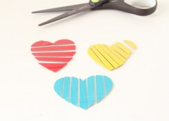 DIY Duct Tape Puzzle for Valentine's Day