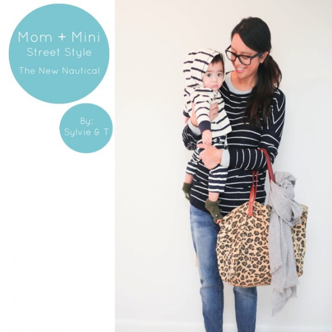 Mom & Mini Street Style: The New Nautical 1