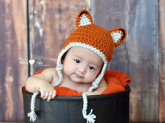 fox-baby-hat-crochet-bucket-adorable