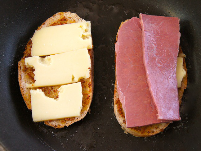 cheese corned beef bread