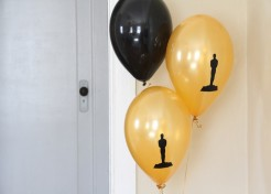 DIY Oscars Party Balloons