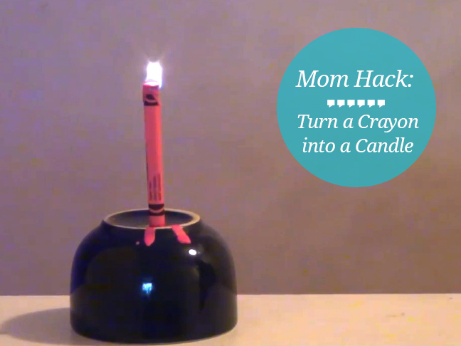 crayon-into-a-candle